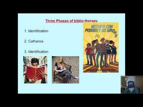 what is bibliotheraphy What is bibliotheraphy what is bibliotherapy  bibliotherapy – the use of literature to help people cope with emotional problems, mental illness, or changes in their lives or to produce affective change and promote personality growth and development.