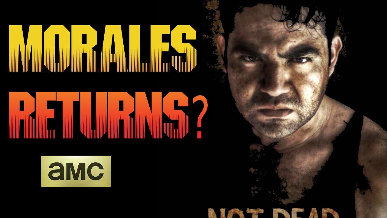 the walking dead season 5 morales returns