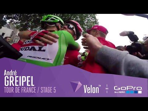 Tour de France Stage 5 - How André Greipel's Win Looks