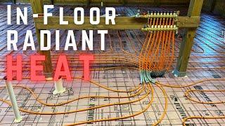 Installing In-floor Radiant Heat // Dream Workshop Build 2 // How To DIY