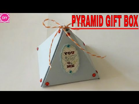 DIY PYRAMID Gift Box- Gift Box Ideas .