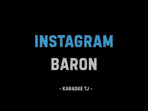 BARON - ТЬ ГАРЕНИ БАМАЗАИ (КАРАОКЕ, МИНУС)