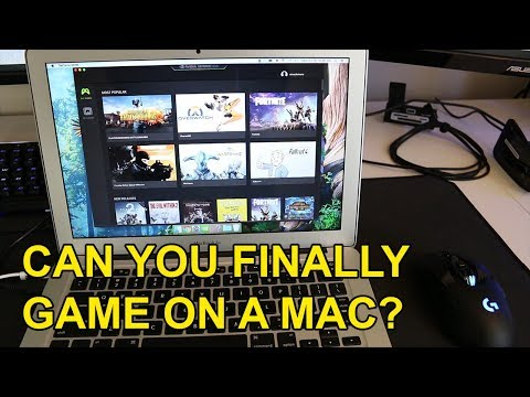 Nvidia's Free Game Streaming Service for Macs Tested
