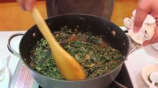 'saag Paneer'- Recipe And Cooking Demo By Chef & Owner Sanjiv Dhar