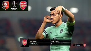 Rennes vs Arsenal - Europa League 7 March 2019 Gameplay