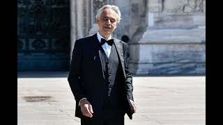 Andrea Bocelli Gives Stunning Easter Concert Inside Empty Milan Cathedral - Today News