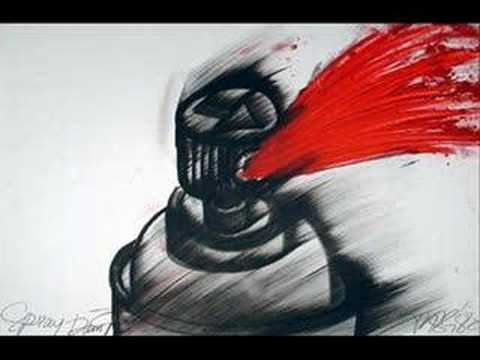 Spray Paint - Lupe Fiasco, GhostFace, and Mike Shinoda