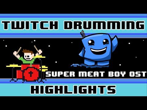 Super Meat Boy OST (Drum Cover) -- The8BitDrummer