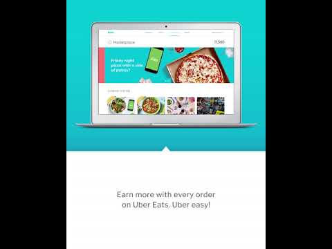 Brim Marketplace with Uber Eats