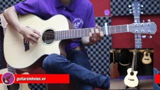 VIDEO TEST DÒNG GUITAR GỖ MAHOGANY( HỒNG ĐÀO BẮC PHI)_ MH1