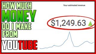 Video How Much Money Do I Make On YouTube download MP3, 3GP, MP4, WEBM, AVI, FLV September 2018
