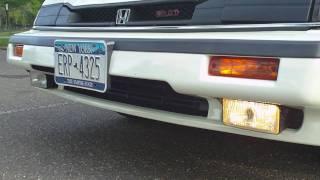 1986 Honda Prelude Auto Cover Foglights