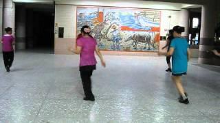 54. knock 3 times(敲三下)-line dance