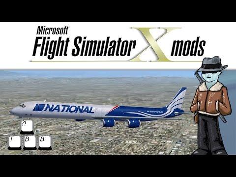 Flight Simulator X Plane Spotlight - Douglas DC-8-71