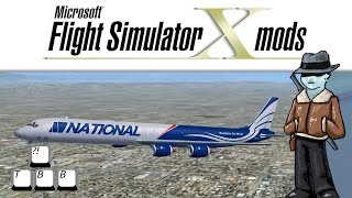 Download Video Flight Simulator X Plane Spotlight - Douglas DC-8-71 MP3 3GP MP4