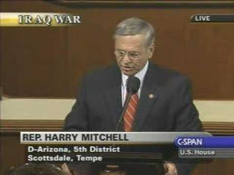 Rep. Mitchell Iraq Resolution Floor Speech 2-15-2007