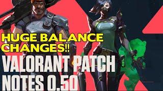 Huge Valorant Balance Paтch || Sage and Cypher Nerfed Omen Buffed