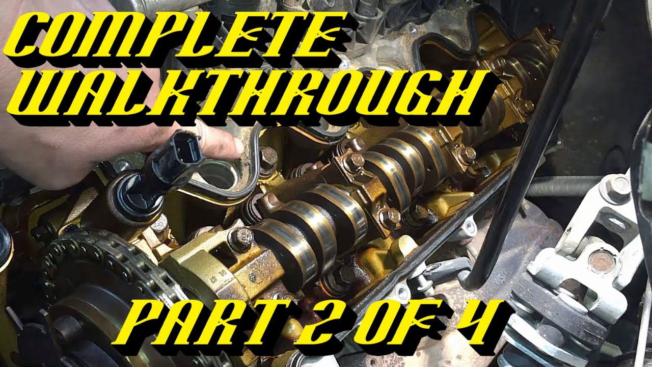 Ford 54l 3v Engine Timing Chain Kit Replacement Pt 2 Of 4 Front Belt Diagram For A F 250 5 8 Cover Valve Removal