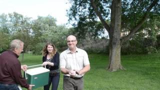 ALS - Ice Bucket Challenge at Ontario Soil and Crop