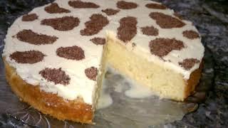 Торт три молока. Очень вкусный и готовится проще простого!