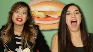 Vegetarians Try Veggie Fast Food Options