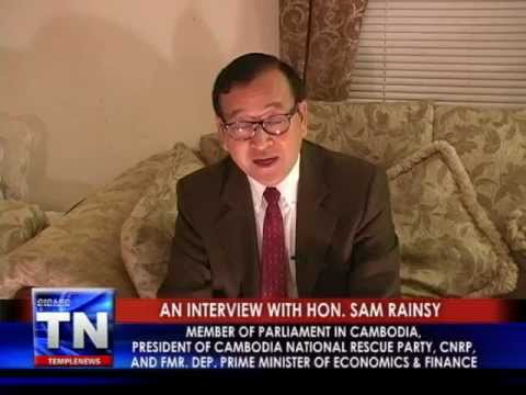Interview with Sam Rainsy - CNRP President