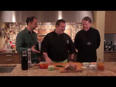 Taste This TV Season 1 Episode 3 - with guest David Rosengarten
