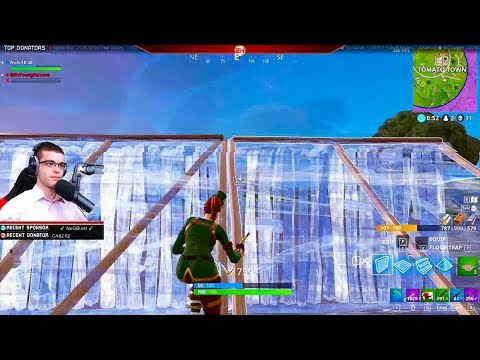 How to build up on someone who has the high ground! (Nick Eh 30's BEST Fortnite Moments #9)