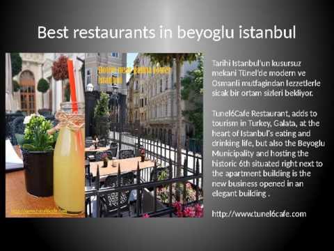 Hotels cafes restaurants Istanbul Tureky