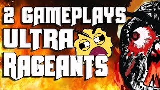 2 Gameplays ULTRA Rageants (+def troll) - Clash Of Clans