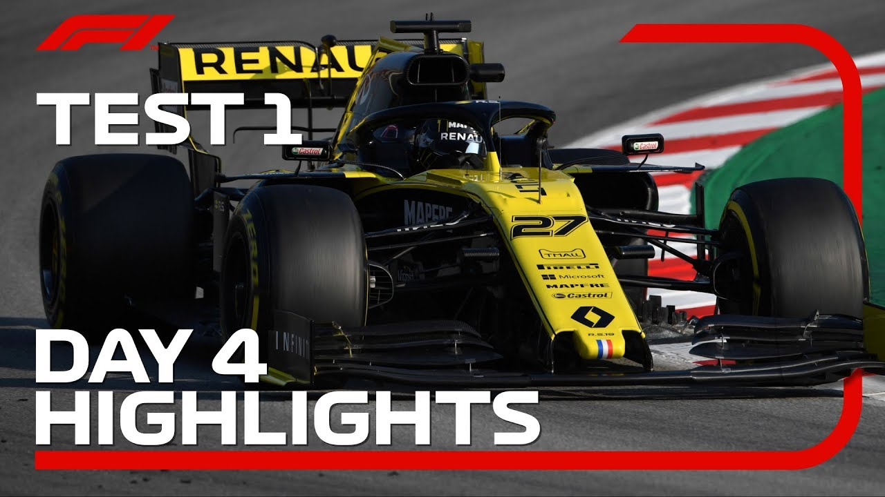 Download Day 4 Highlights   F1 Testing 2019