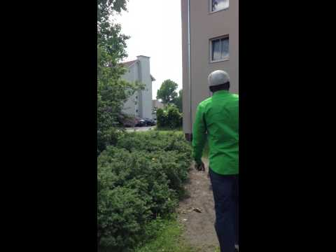 Walk Through Erlangen Housing Area Part 1