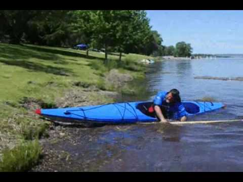 stupid kayak tricks …  the grass roll