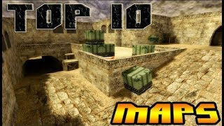 Top 10 Most Popular Maps in Counter Strike 1.6