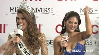 2017 Miss Universe Miss France - First LIVE INTERVIEW