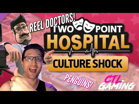 SHOCKING! WITH CULTURE! TWO POINT HOSPITAL! PLAYING! |