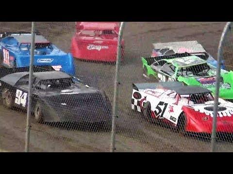 Super Late Model Qualifying &Heat Races @ Willamette Speedway 2017