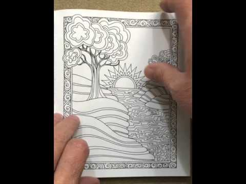 - Portable Color Me Calm: 70 Coloring Templates For Meditation And Relaxation  Flip Through - YouTube