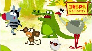 Зебра в клеточку - Бу-бух - премьера на канале Союзмультфильм HD смотреть онлайн в хорошем качестве бесплатно - VIDEOOO