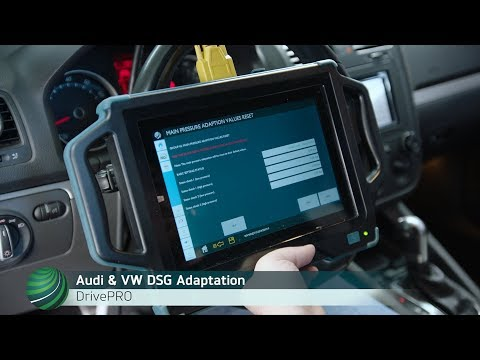Audi & VW Direct Shift Gearbox Adaptation Procedure