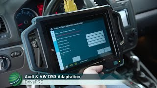 Audi & VW Direct Shift Gearbox Adaptation procedure using Autologic DrivePRO