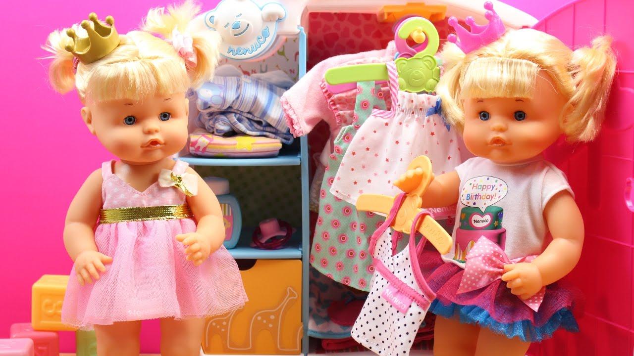 Ba o de burbujas beb nenuco princesa cuca y su prima niki - Nenuco bano de burbujas ...