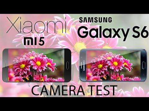 Xiaomi mi5 vs Samsung Galaxy S6 - Camera COMPARISON