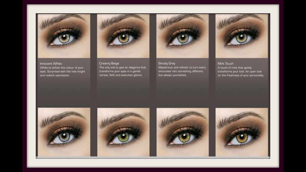 Desio Contacts Demo All 8 Colors On Dark Eyes Youtube