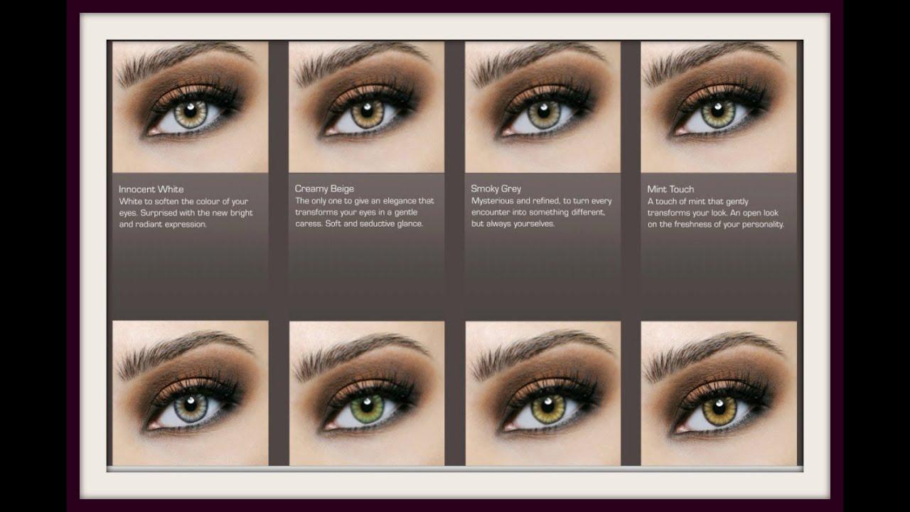 Best Blue Lenses for Brown Eyes Colored Lenses for Dark Eyes