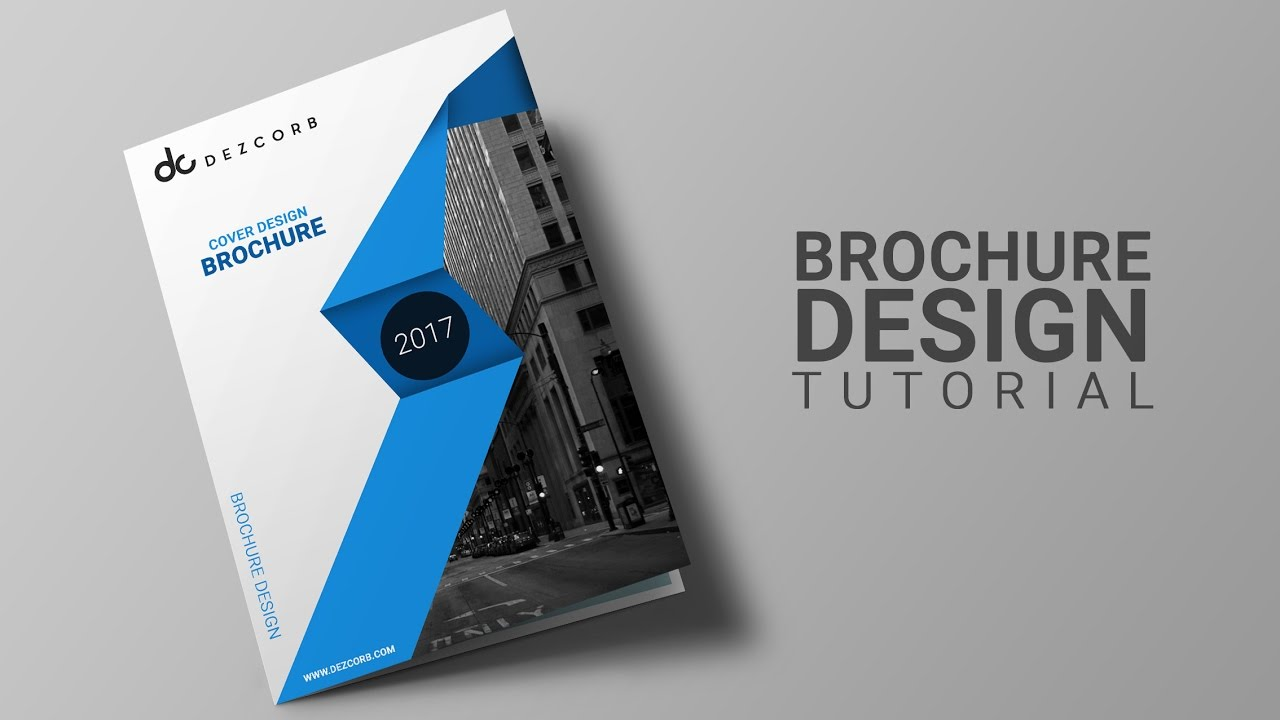 how to design brochure in photoshop cs6 brochure datasheet design tutorial