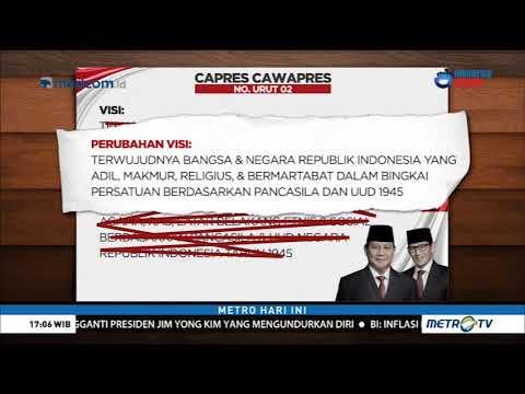 Ini Revisi Visi Misi Prabowo-Sandi yang Ditolak KPU Mp3