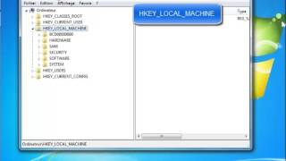Problème wifi windows 7 (registres)