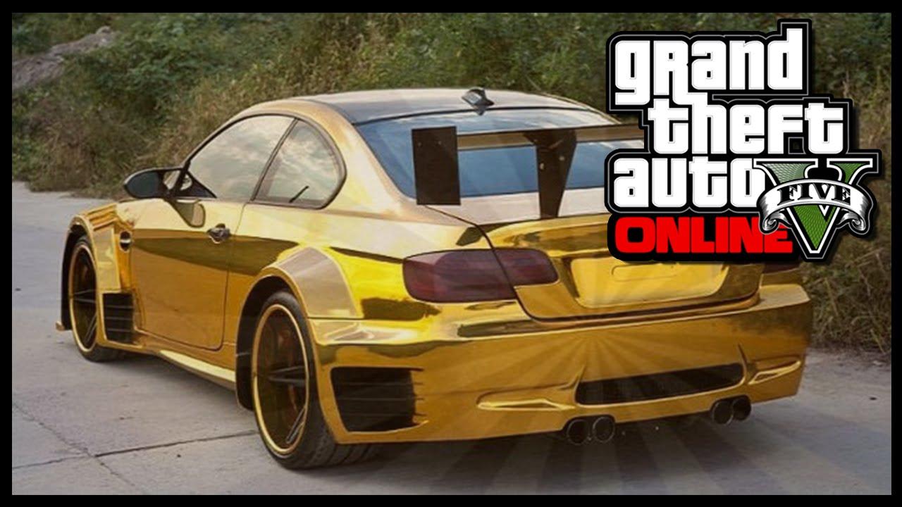 GTA 5 Online - NEW Gold Paint Job In GTA V Online ! (GTA 5 ...
