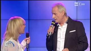"""Rita Pavone e Amedeo Minghi """"Ti perdo e non vorrei"""" - Porta a Porta 21/09/2015"""